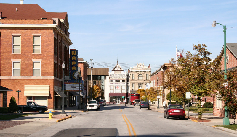 ohio-downtown-Wapakoneta
