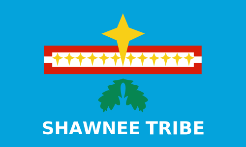 The seal of the Shawnee Indian tribe.