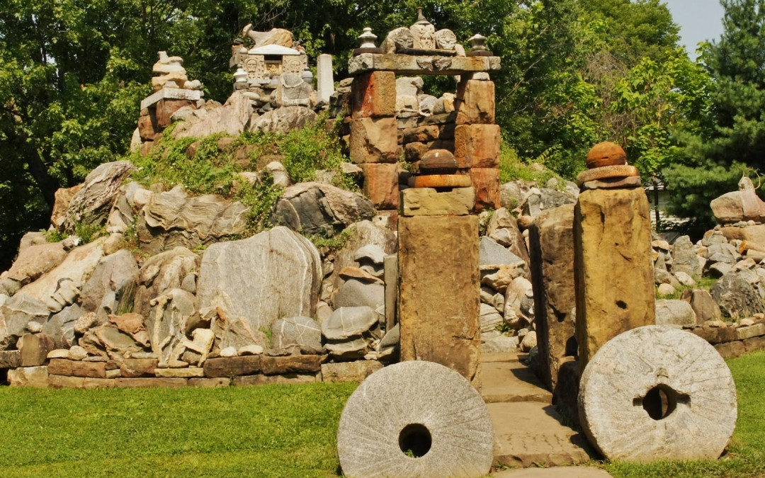 The Wapak Temple of Tolerance / Rock Garden