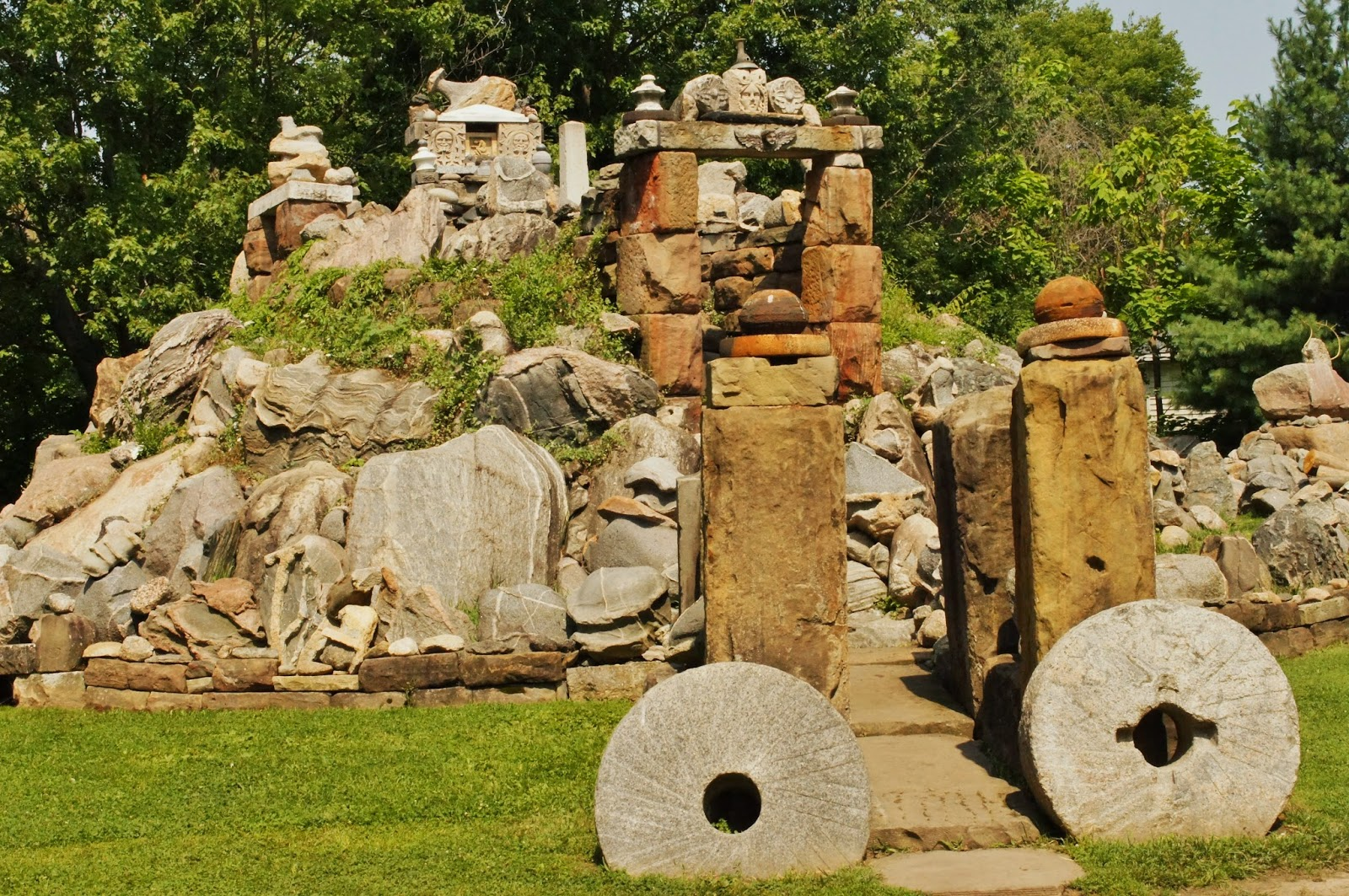 The Wapak Temple of Tolerance / Rock Garden -